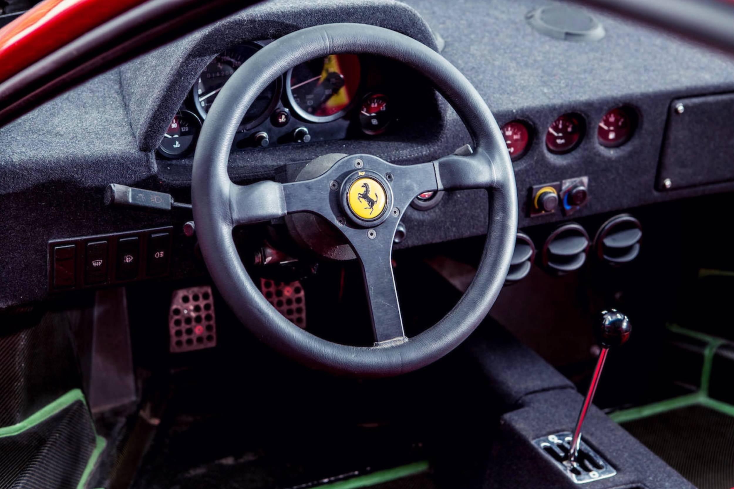 ferrari f40 car 23 - Ex-David Gilmour / Pink Floyd Ferrari F40