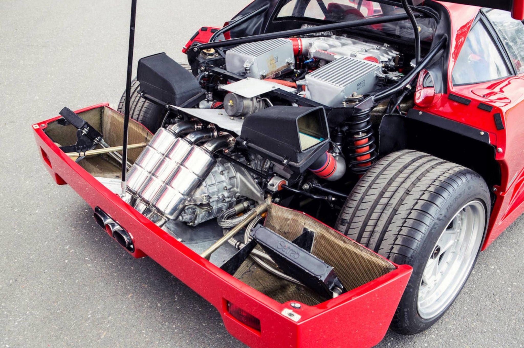 Ferrari F40 Engine – Auto Bild Idee
