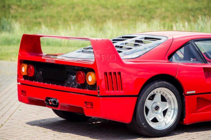 ferrari f40 car 4 740x491 - Ex-David Gilmour / Pink Floyd Ferrari F40