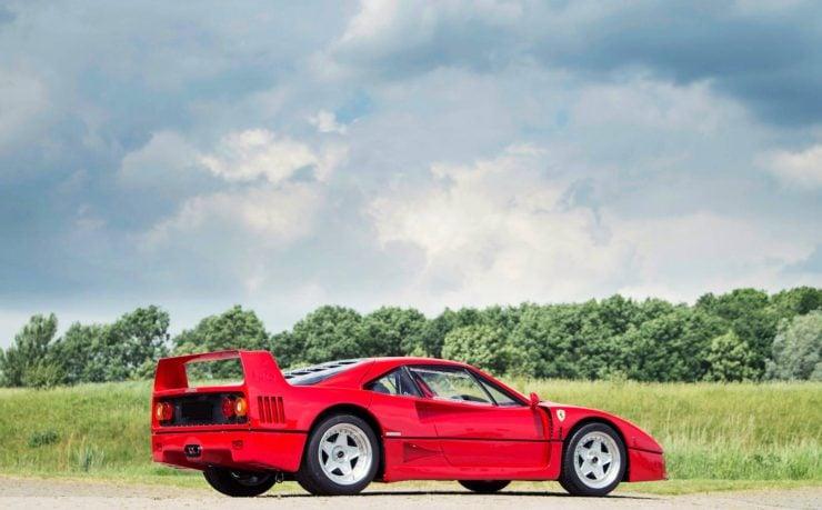 ferrari f40 car 6 740x459 - Ex-David Gilmour / Pink Floyd Ferrari F40