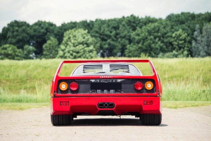 ferrari f40 car 7 740x493 - Ex-David Gilmour / Pink Floyd Ferrari F40