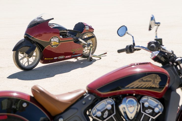 indian scout custom 15 740x493 - Lee Munro's Indian Scout