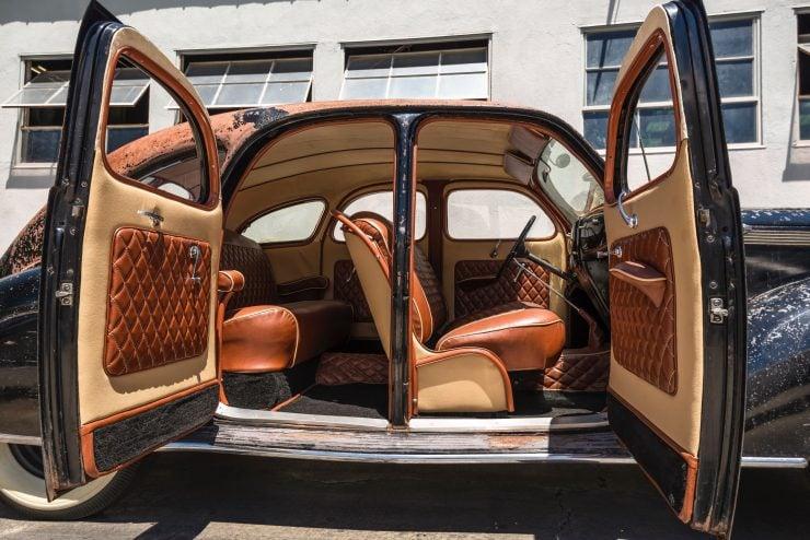 """lincoln zephyr v12 car 16 740x494 - 1936 Lincoln-Zephyr V12 """"Twin-Grille"""""""