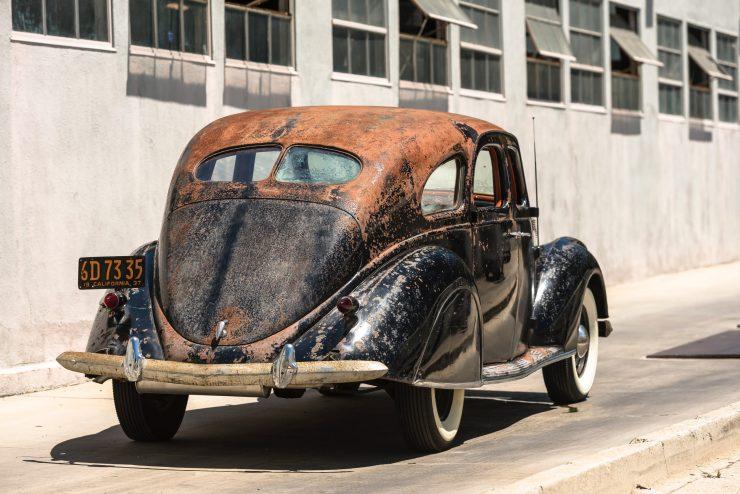 """lincoln zephyr v12 car 25 740x494 - 1936 Lincoln-Zephyr V12 """"Twin-Grille"""""""