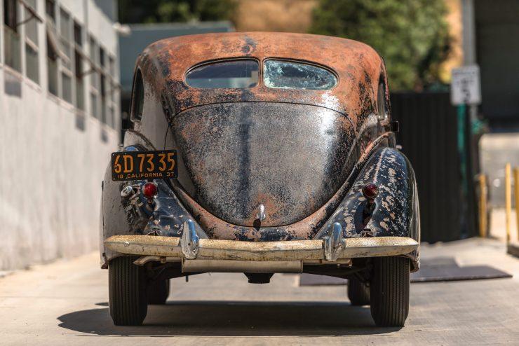 """lincoln zephyr v12 car 27 740x494 - 1936 Lincoln-Zephyr V12 """"Twin-Grille"""""""