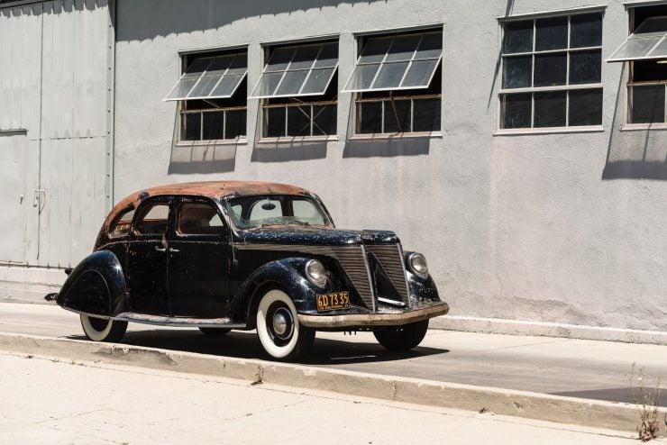 """lincoln zephyr v12 car 29 740x494 - 1936 Lincoln-Zephyr V12 """"Twin-Grille"""""""