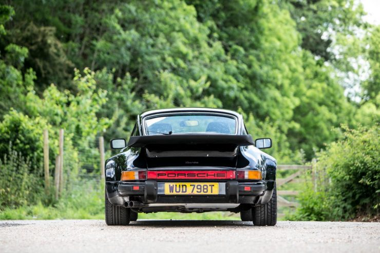 porsche 911 930 turbo 7 740x493 - Ex-Peter Sellers Porsche 930 Turbo