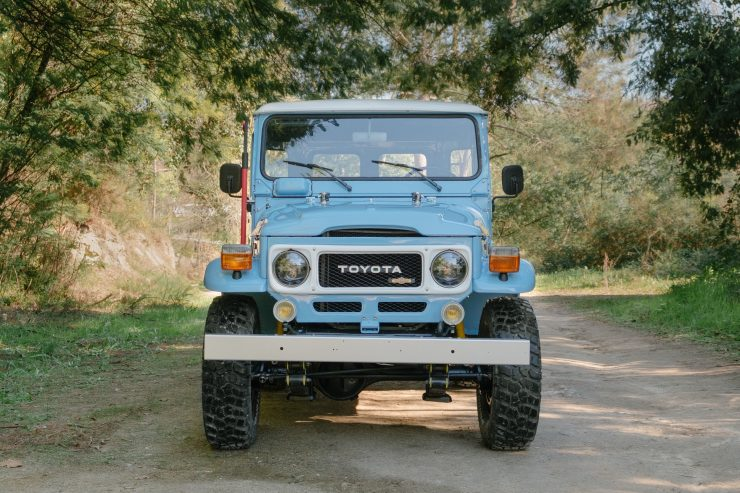 toyota land cruiser bj40 11 740x493 - A Retro Mod Toyota Land Cruiser BJ40 by Legacy Overland