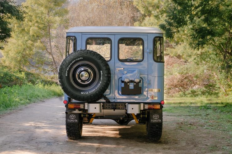 toyota land cruiser bj40 12 740x493 - A Retro Mod Toyota Land Cruiser BJ40 by Legacy Overland