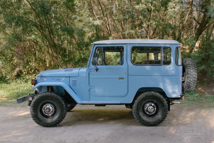 toyota land cruiser bj40 13 740x493 - A Retro Mod Toyota Land Cruiser BJ40 by Legacy Overland