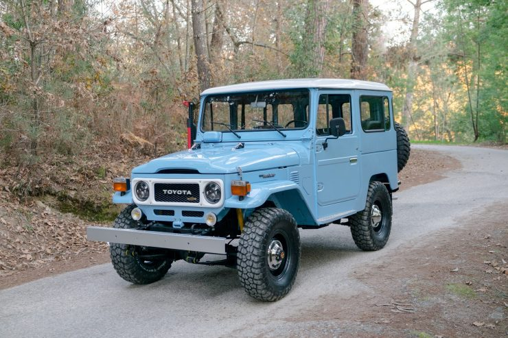 toyota land cruiser bj40 14 740x493 - A Retro Mod Toyota Land Cruiser BJ40 by Legacy Overland