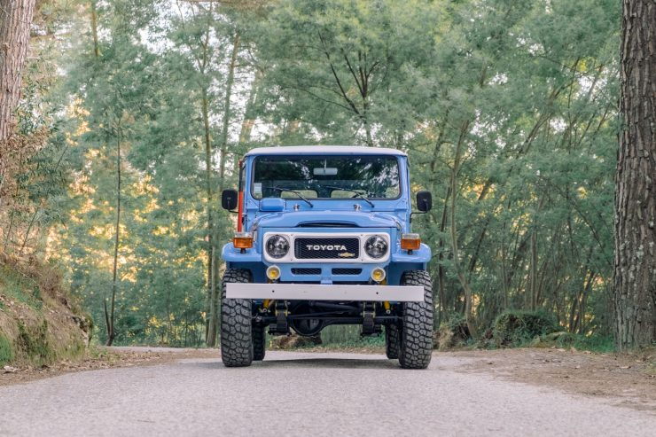 toyota land cruiser bj40 15 740x493 - A Retro Mod Toyota Land Cruiser BJ40 by Legacy Overland