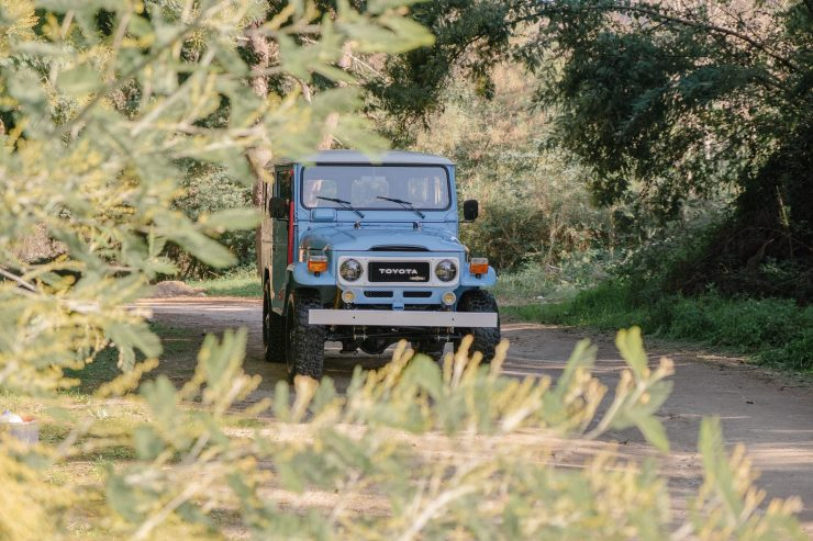 toyota land cruiser bj40 17 740x493 - A Retro Mod Toyota Land Cruiser BJ40 by Legacy Overland
