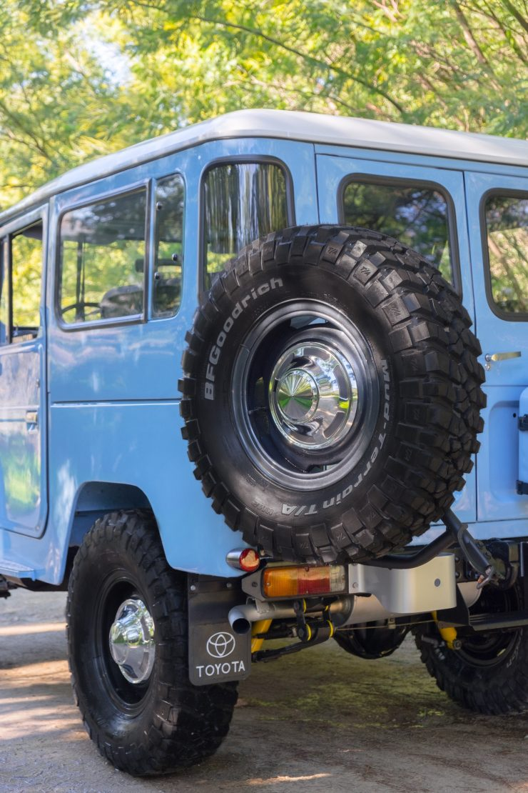 toyota land cruiser bj40 21 740x1110 - A Retro Mod Toyota Land Cruiser BJ40 by Legacy Overland