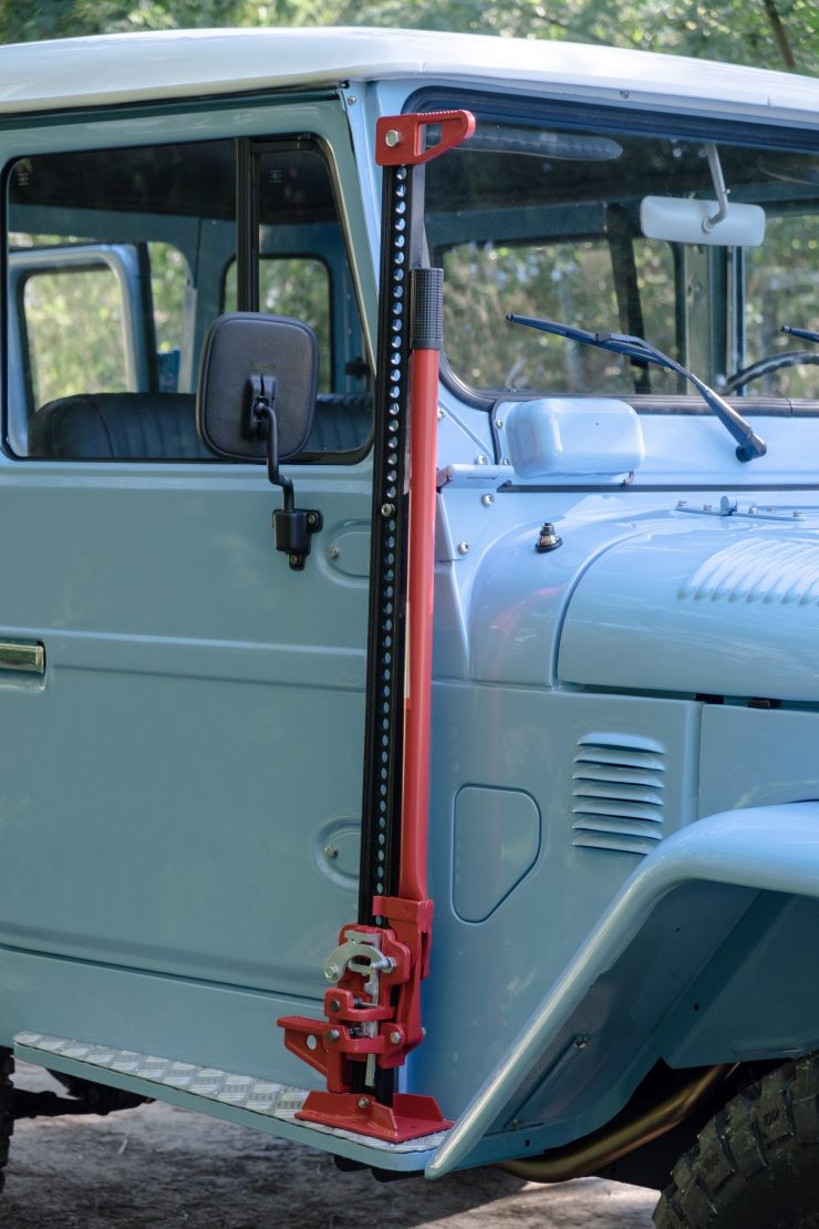 toyota land cruiser bj40 23 740x1110 - A Retro Mod Toyota Land Cruiser BJ40 by Legacy Overland