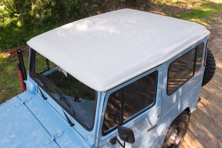 toyota land cruiser bj40 25 740x493 - A Retro Mod Toyota Land Cruiser BJ40 by Legacy Overland