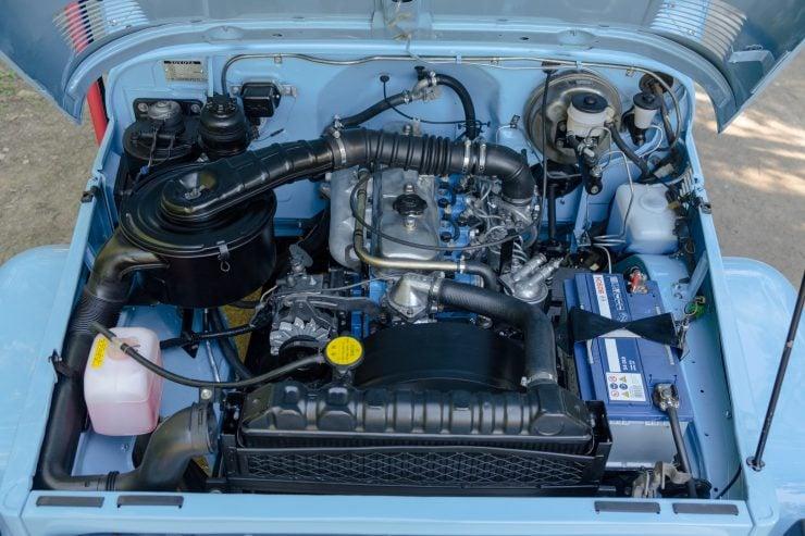 toyota land cruiser bj40 27 740x493 - A Retro Mod Toyota Land Cruiser BJ40 by Legacy Overland