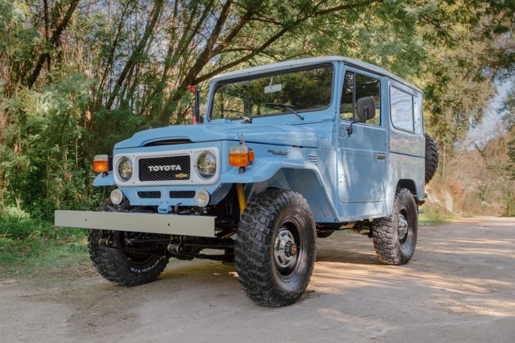 toyota land cruiser bj40 6 740x493 - A Retro Mod Toyota Land Cruiser BJ40 by Legacy Overland