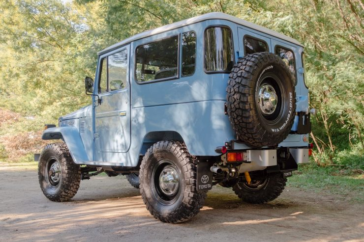 toyota land cruiser bj40 7 740x493 - A Retro Mod Toyota Land Cruiser BJ40 by Legacy Overland