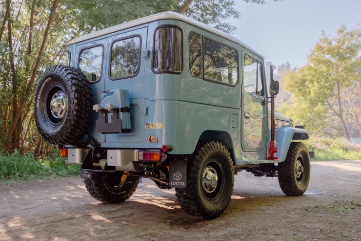 toyota land cruiser bj40 8 740x493 - A Retro Mod Toyota Land Cruiser BJ40 by Legacy Overland