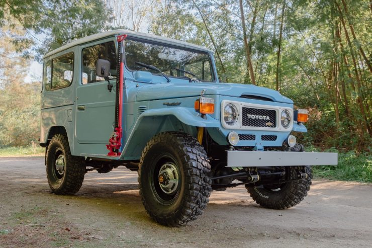 toyota land cruiser bj40 9 740x493 - A Retro Mod Toyota Land Cruiser BJ40 by Legacy Overland