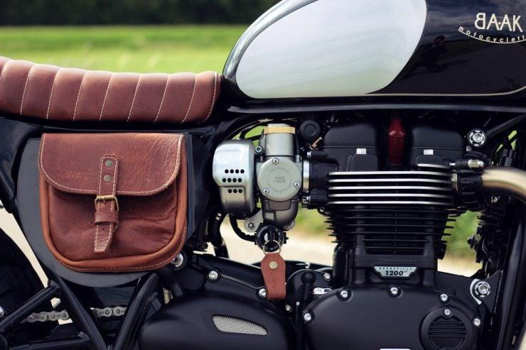 triumph bonneville t120 8 740x493 - BAAK Motorcycles Triumph Bonneville T120