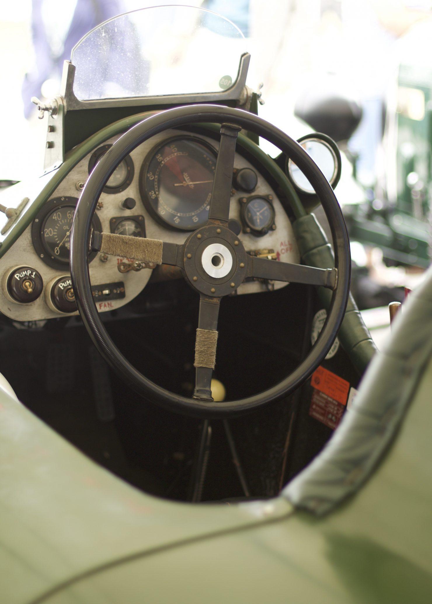 1926 Bentley 8 Litre Special 1480x2071 - Cockpits of Goodwood