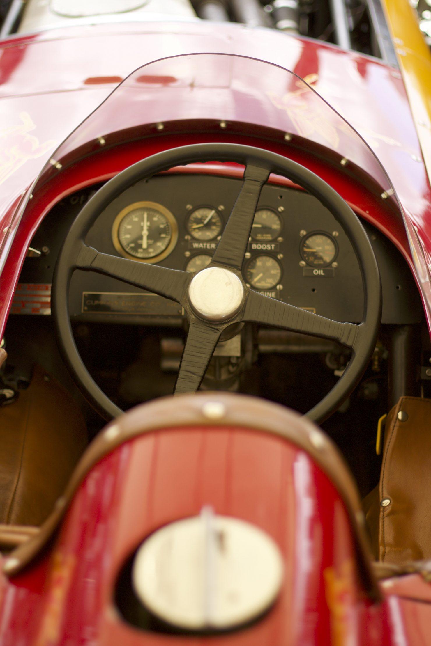1952 Kurtis Kraft Cummins Diesel Special 1480x2220 - Cockpits of Goodwood