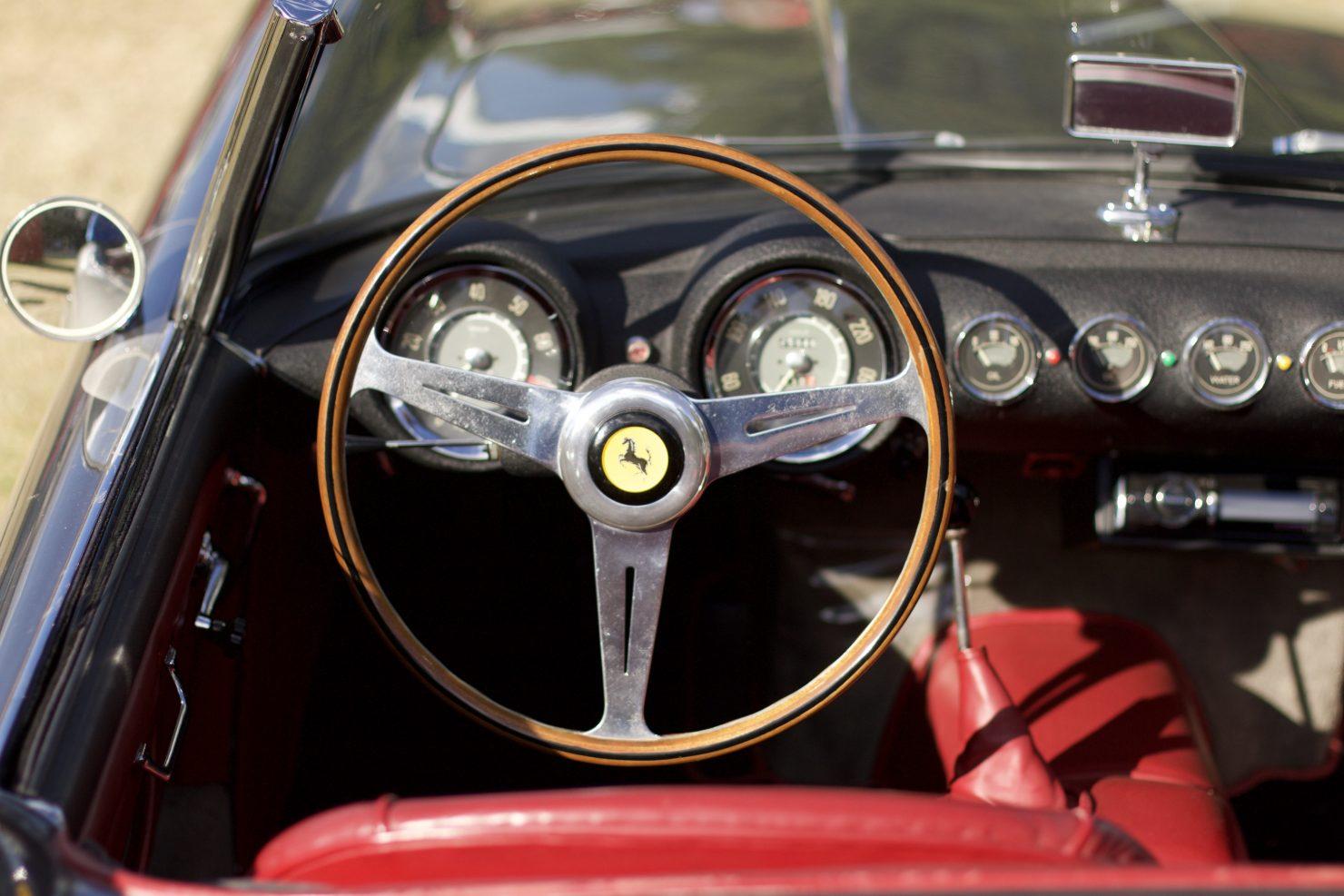 1957 Ferrari 250 GT Pininfarina Cabriolet Series I 1480x987 - Cockpits of Goodwood