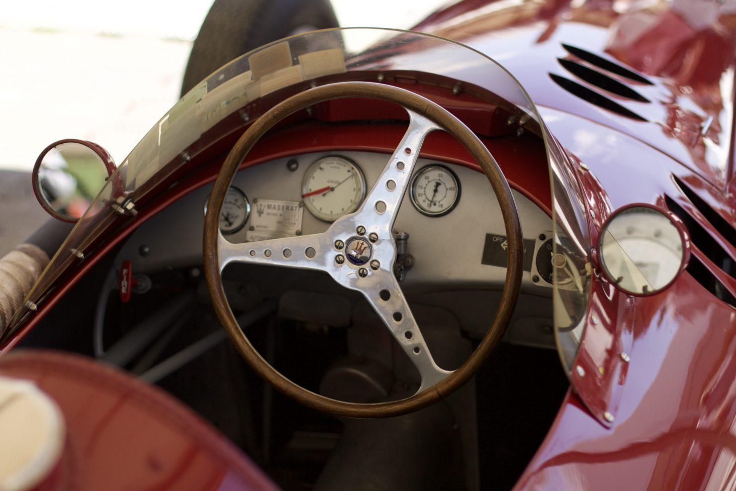 1957 Maserati 250F Lightweight 1480x987 - Cockpits of Goodwood