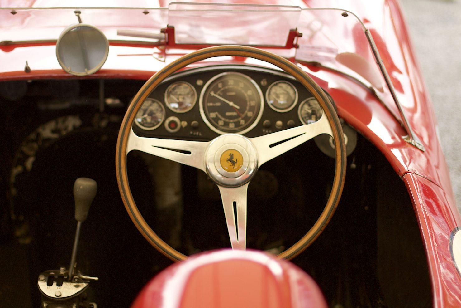 1958 Ferrari 250 TR58 1480x987 - Cockpits of Goodwood