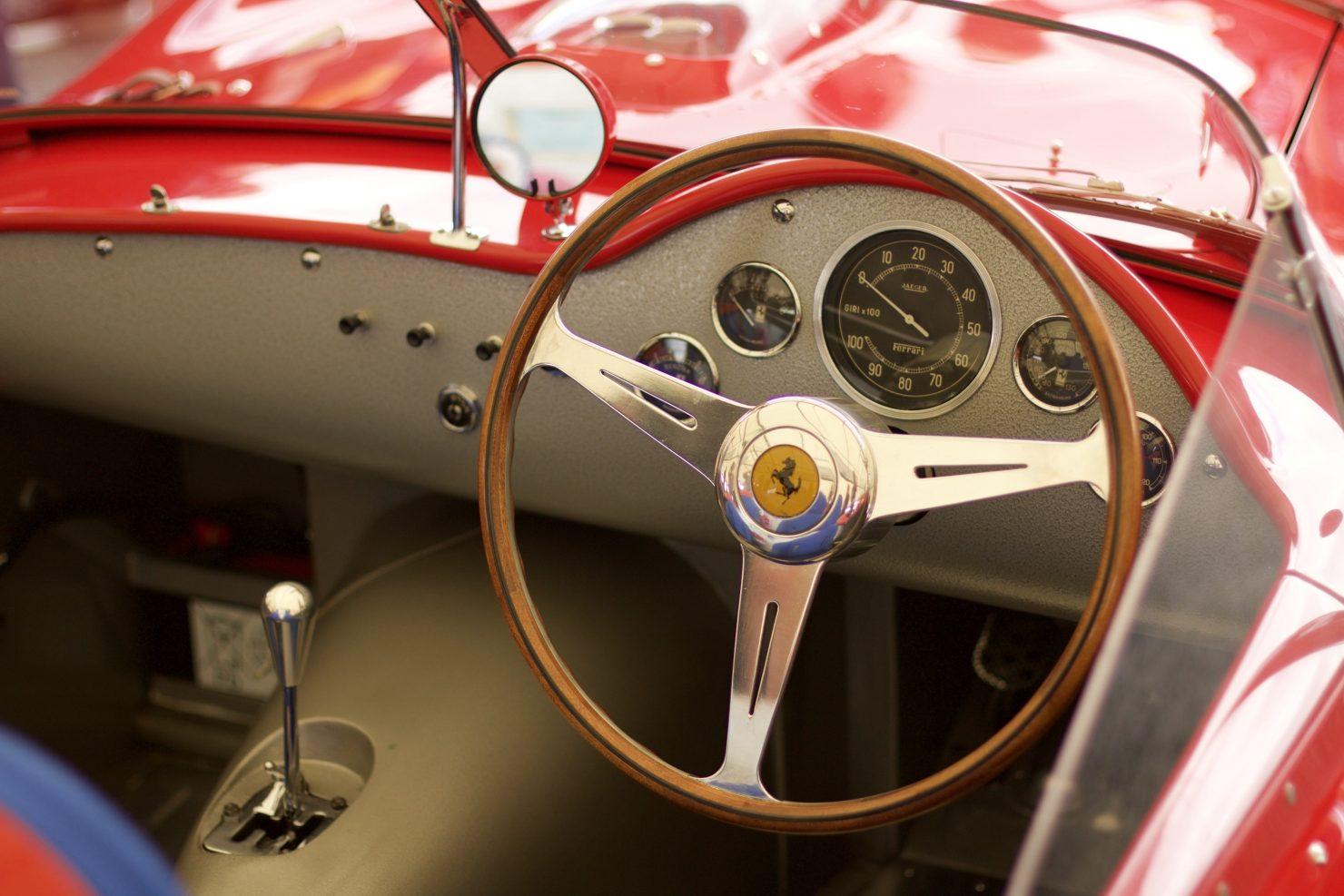 1959 Ferrari 250 TR59slash60 1480x987 - Cockpits of Goodwood