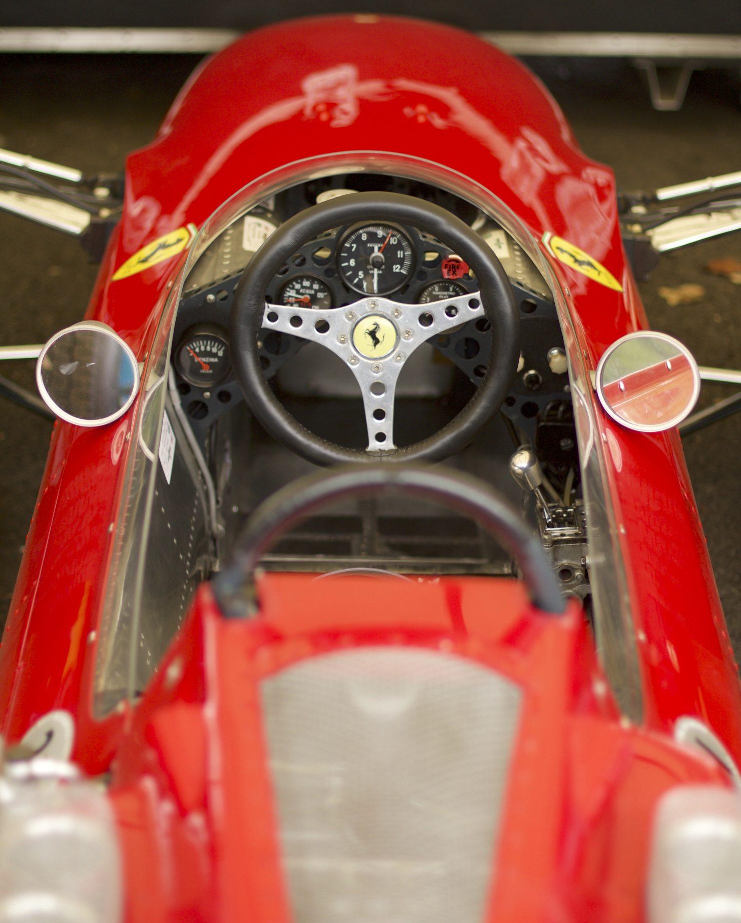 1964 Ferrari 158 1480x1842 - Cockpits of Goodwood