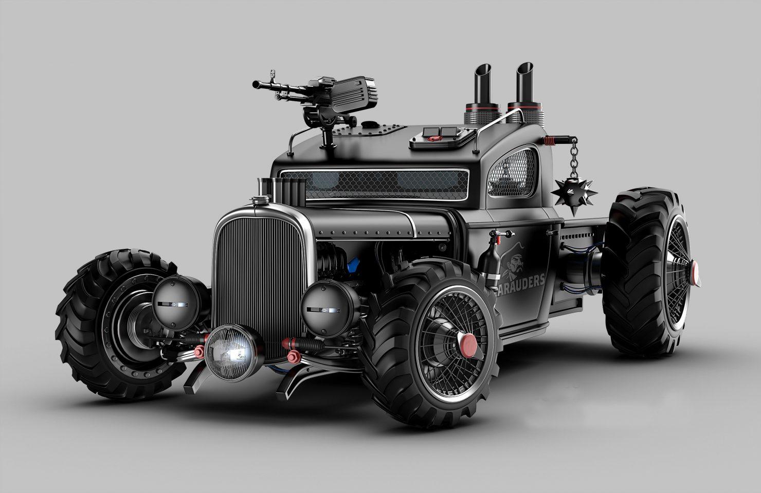 BLACK WARRIOR 1480x959 - The Vehicles of Jomar Machado