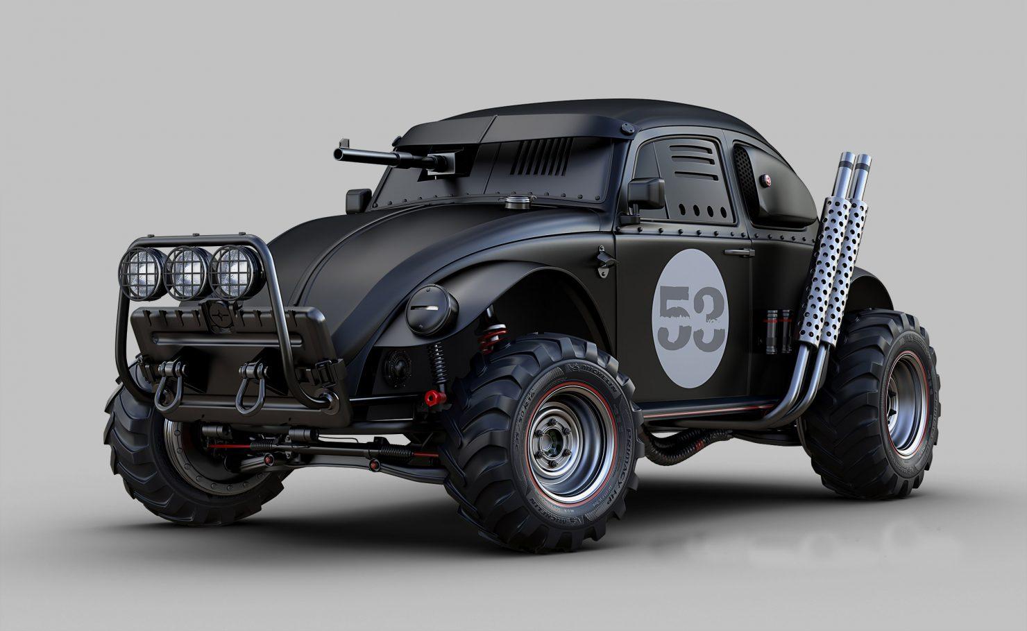 DARK BEETLE 1480x910 - The Vehicles of Jomar Machado