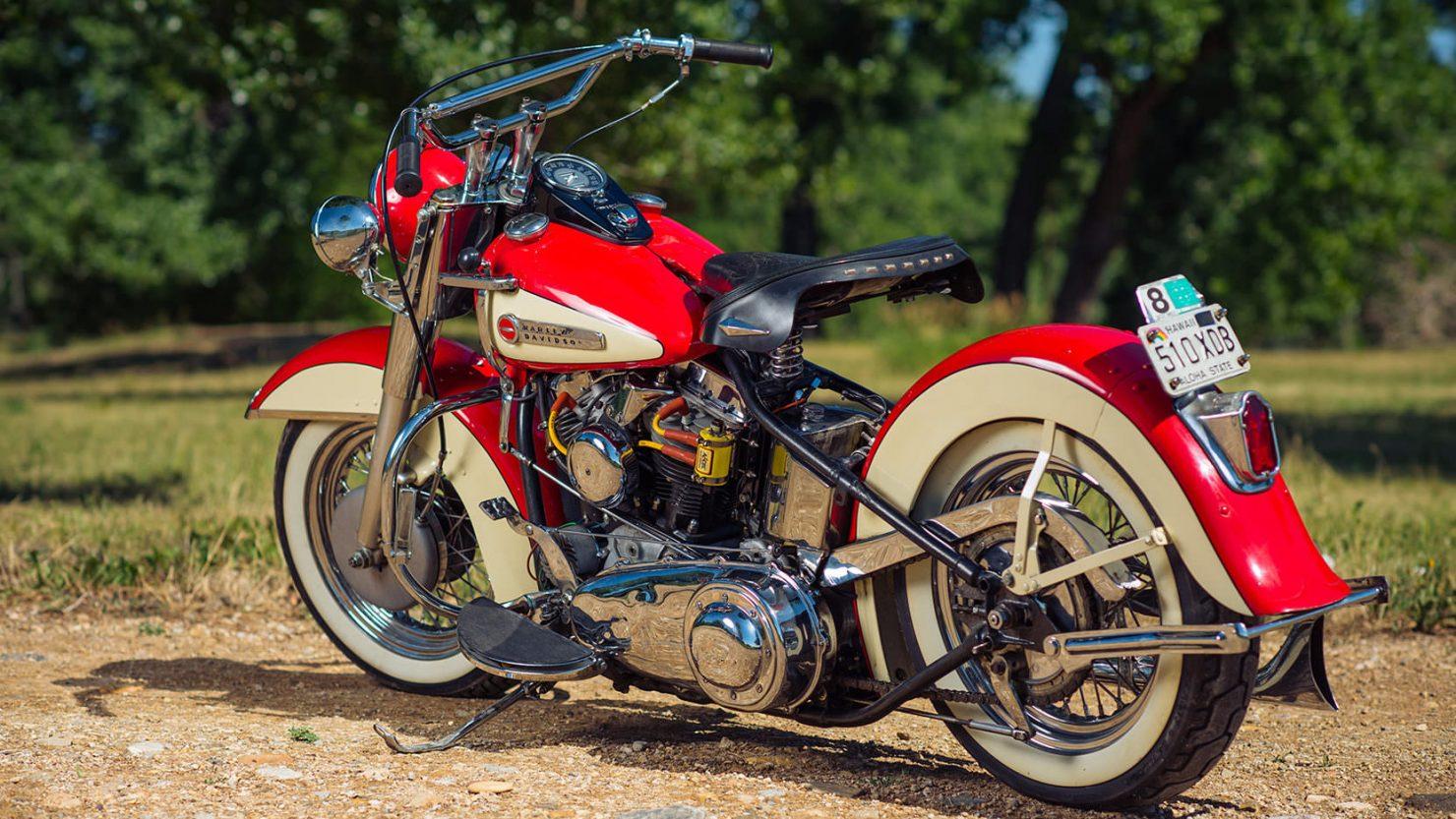Harley Davidson FL Panhead 11 1480x833 - 1949 Harley-Davidson FL Panhead