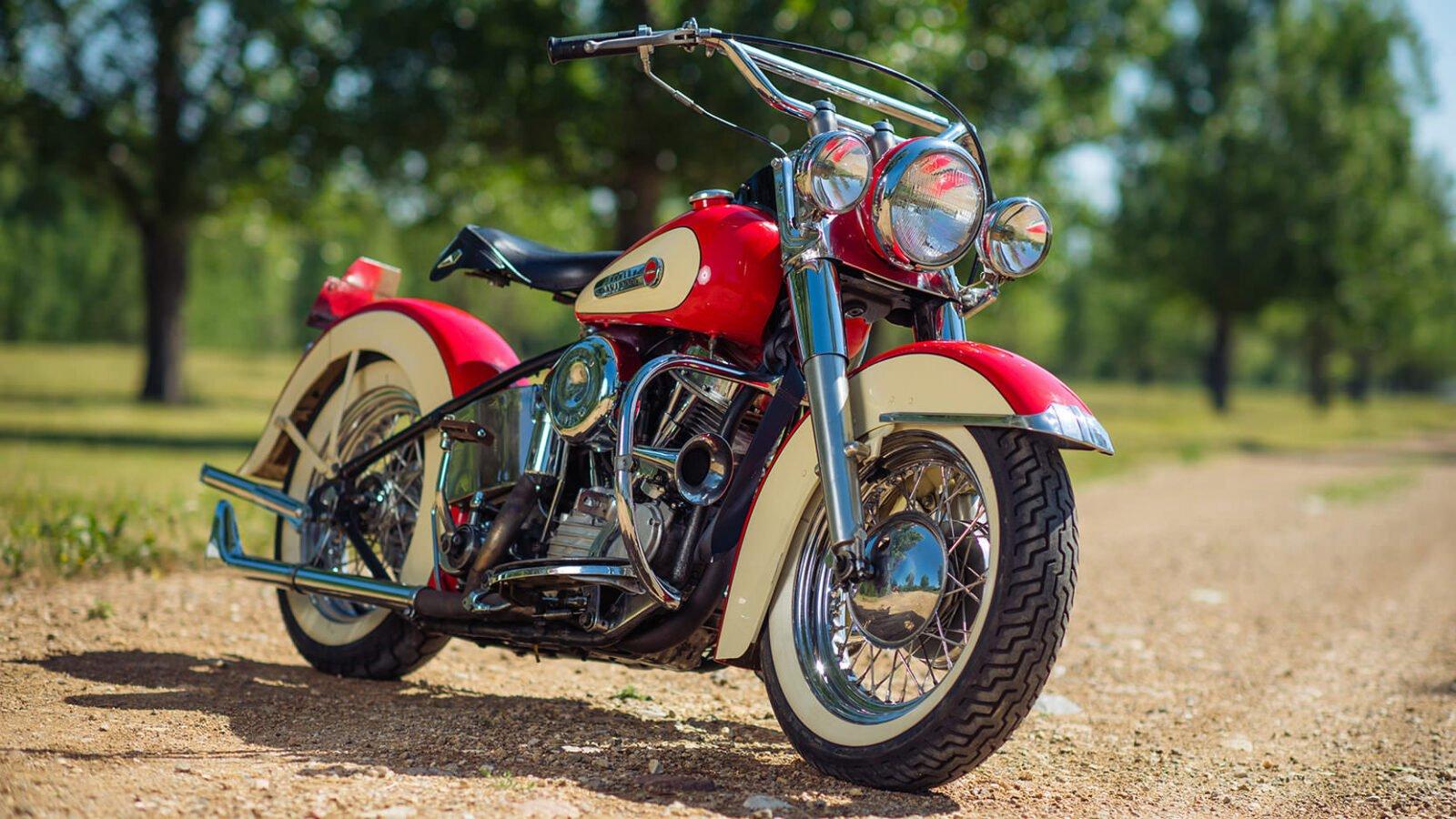 Harley Davidson FL Panhead 1600x900 - 1949 Harley-Davidson FL Panhead