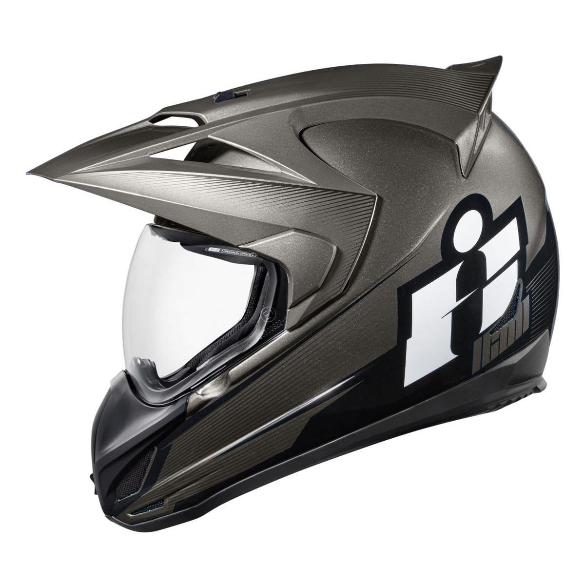 Icon Variant Double Stack Helmet 1 - Icon Variant Double Stack Helmet