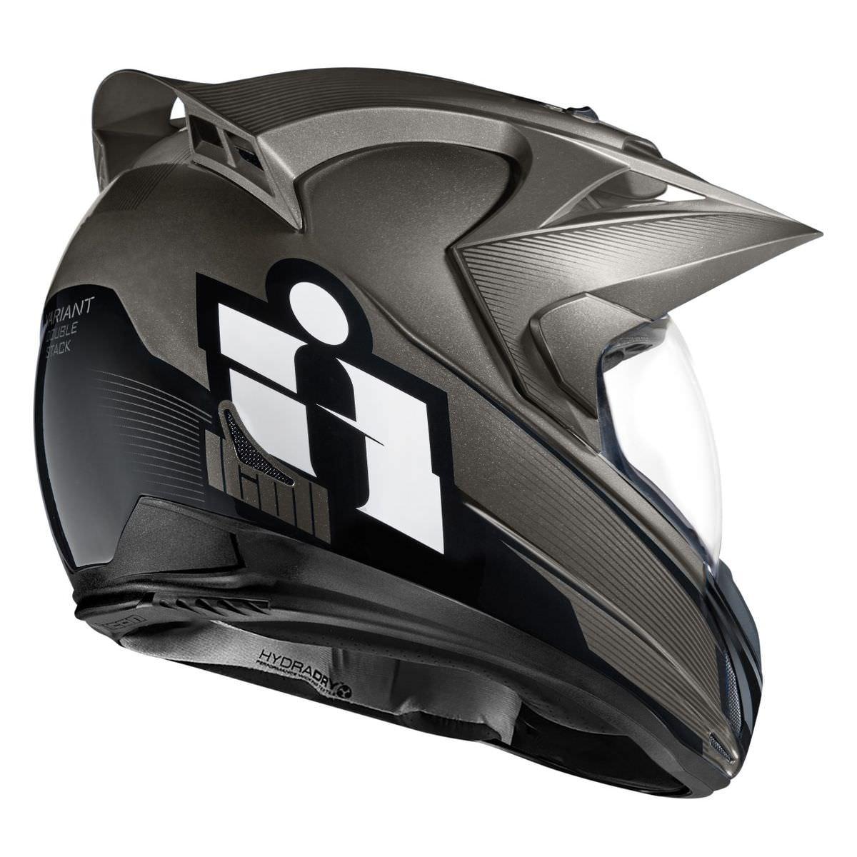 Icon Variant Double Stack Helmet 2 - Icon Variant Double Stack Helmet