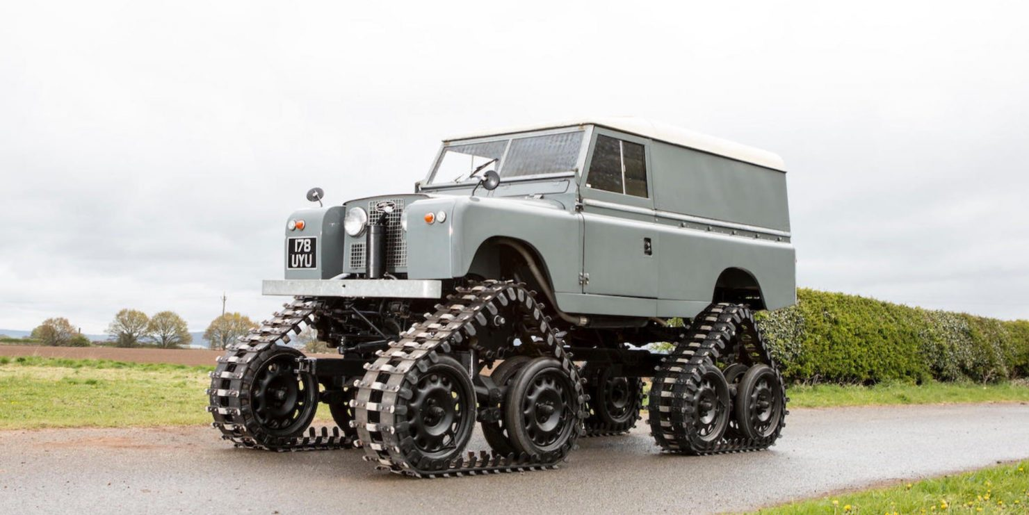 land rover Cuthbertson 1 1480x741 - 1958 Tracked Cuthbertson Land Rover
