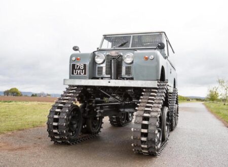 land rover Cuthbertson 14 450x330 - 1958 Tracked Cuthbertson Land Rover