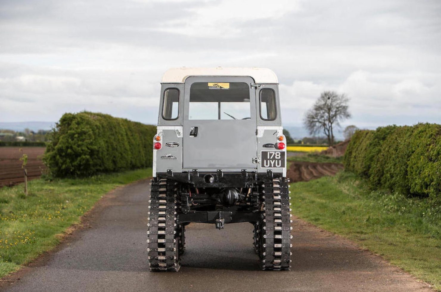 land rover Cuthbertson 4 1480x981 - 1958 Tracked Cuthbertson Land Rover