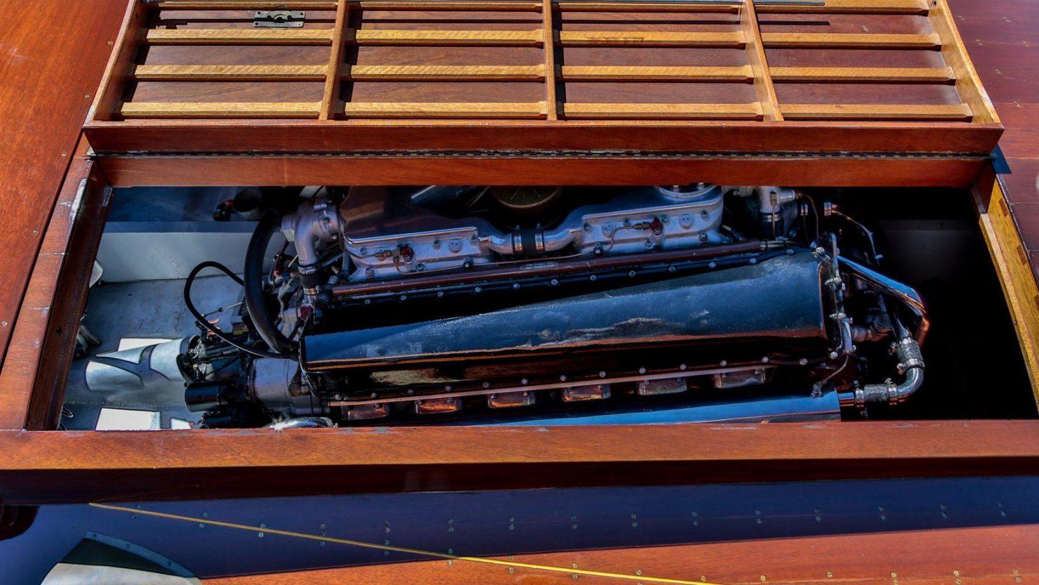 mahogany speed boat 10 1480x833 - 27 Liter V12 Brown & Bassett Gentleman's Racer