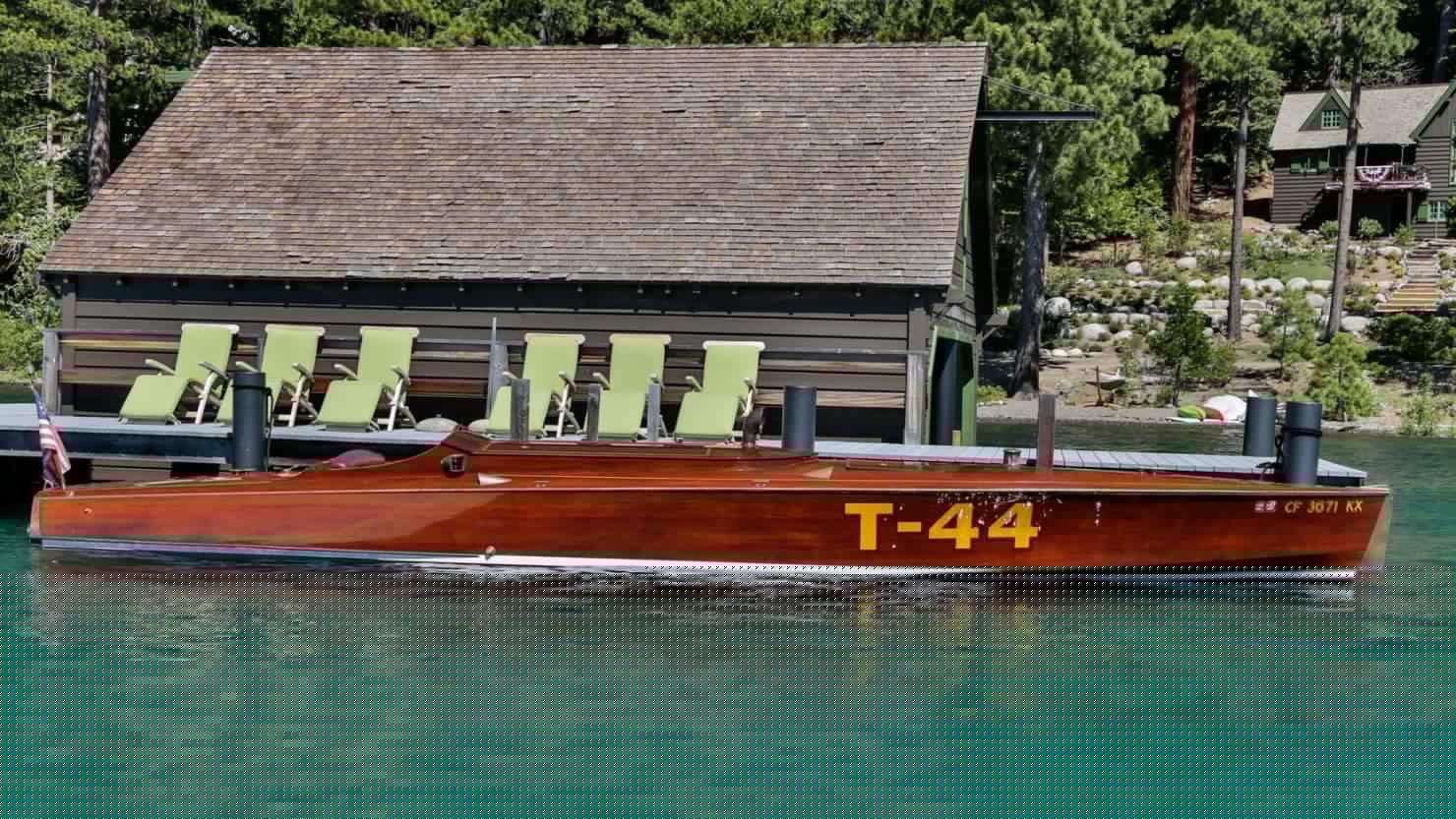 mahogany speed boat 11 1480x833 - 27 Liter V12 Brown & Bassett Gentleman's Racer