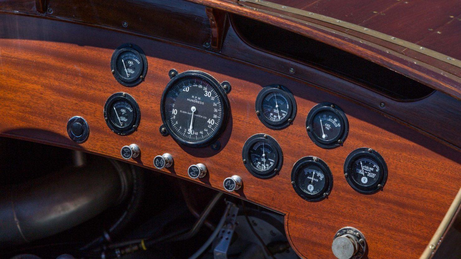 mahogany speed boat 2 1480x833 - 27 Liter V12 Brown & Bassett Gentleman's Racer