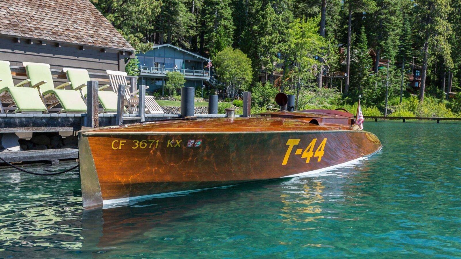 mahogany speed boat 4 1600x900 - 27 Liter V12 Brown & Bassett Gentleman's Racer