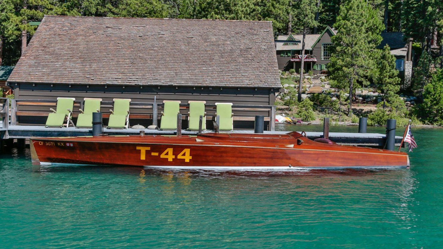 mahogany speed boat 5 1480x833 - 27 Liter V12 Brown & Bassett Gentleman's Racer