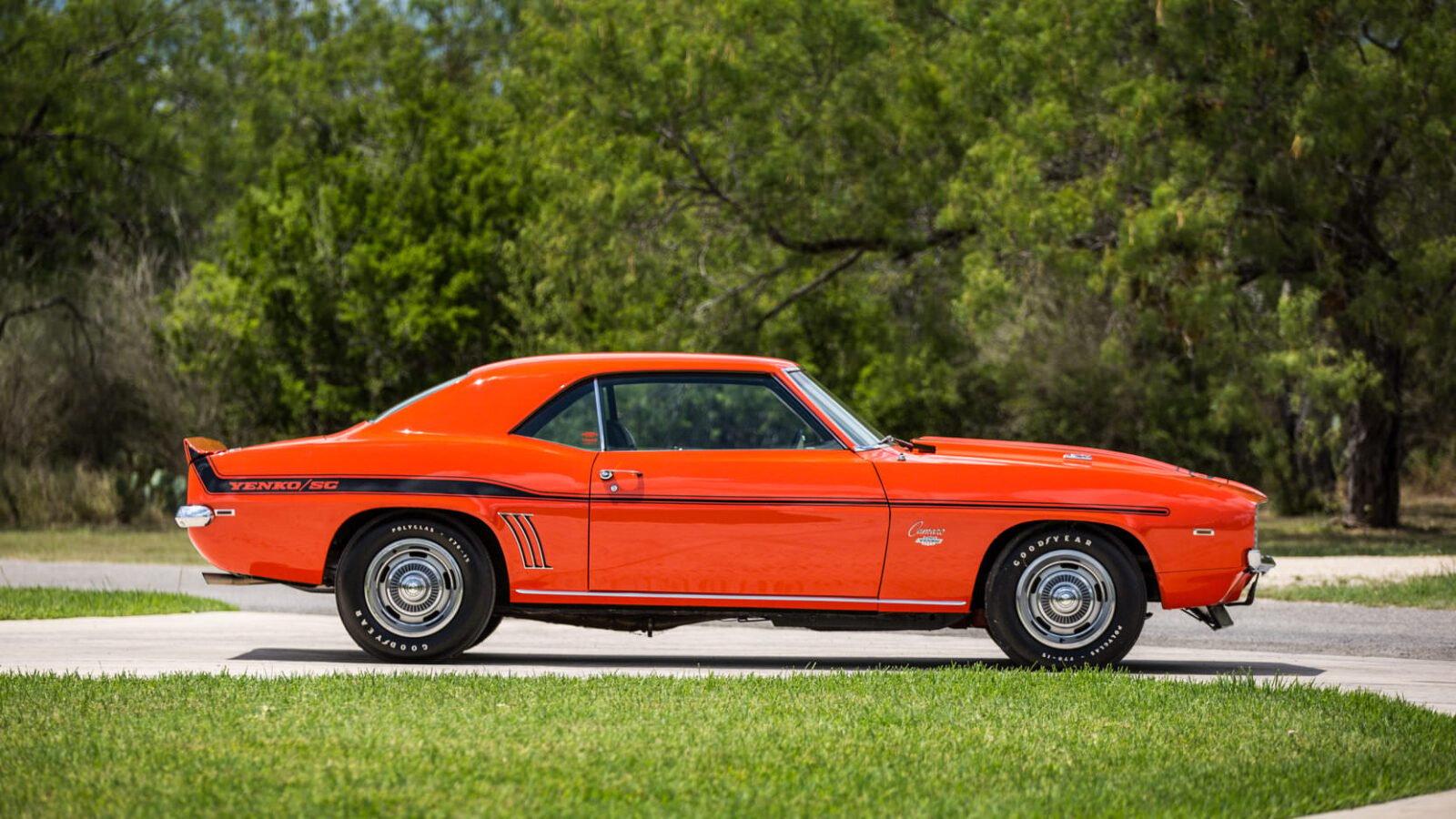 Yenko Camaro For Sale >> 1969 Chevrolet Yenko Camaro