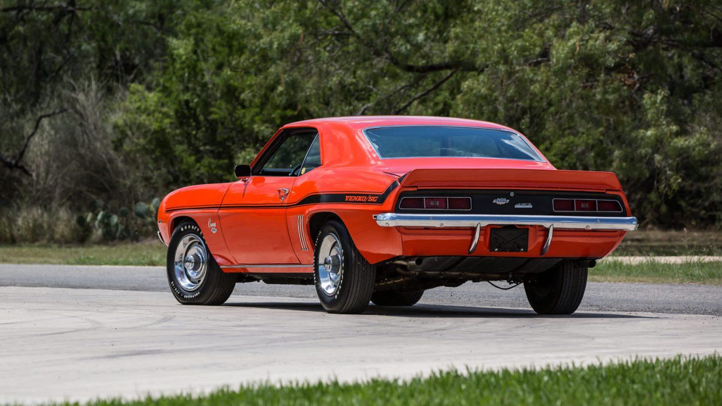 Copo Camaro For Sale >> 1969 Chevrolet Yenko Camaro