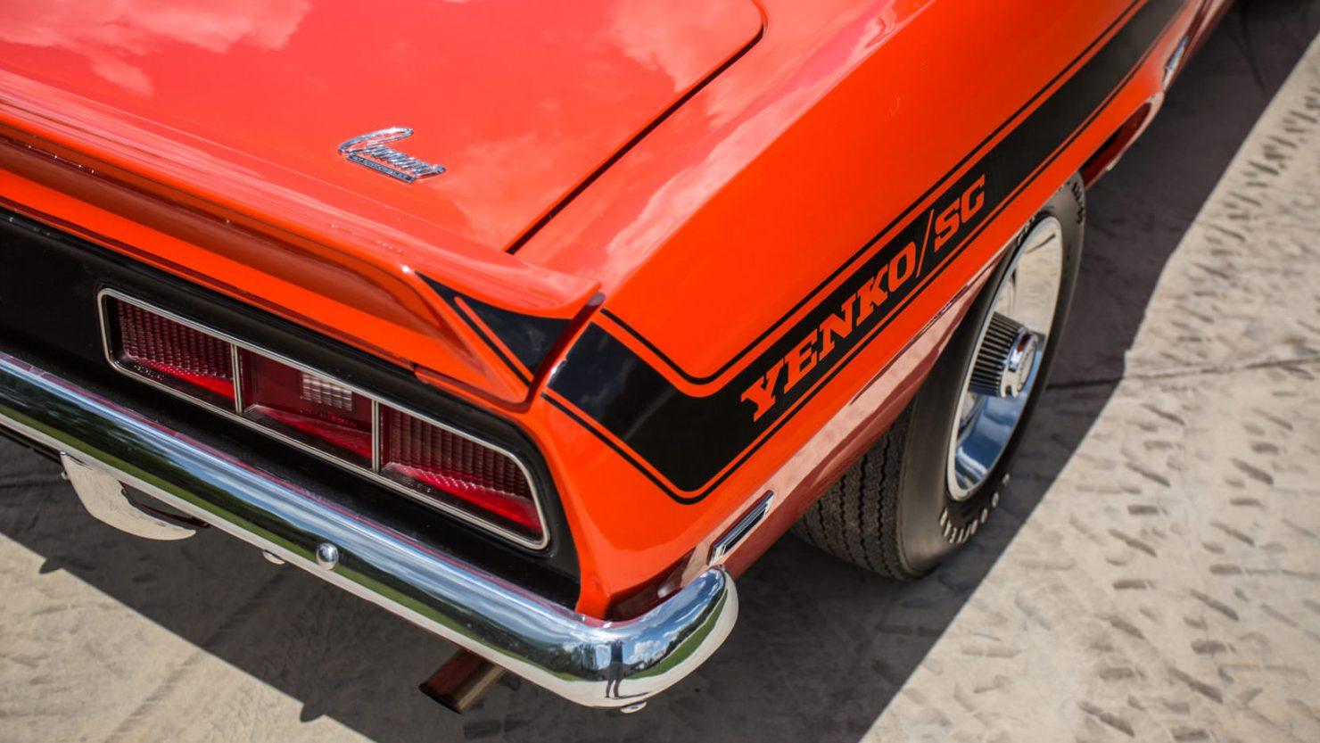 Chevrolet Yenko Camaro 4 1480x833 - 1969 Chevrolet Yenko Camaro
